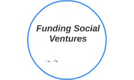 Funding Social Ventures