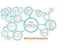 MLA and Citations