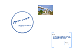 Pipeline security overview