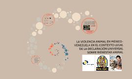 tesis sobre Violencia Animal - Por Diana Tano
