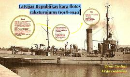 Latvijas Republikas kara flotes raksturojums (1918-1940)