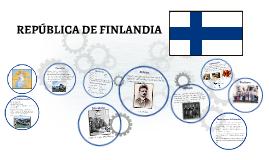 REPÚBLICA DE FINLANDIA