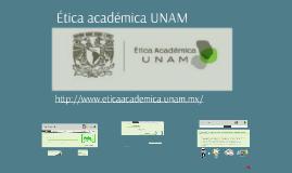 Ética Académica