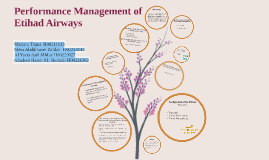 Performance Management of Etihad Airways