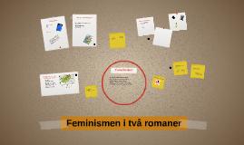 Feminism i två romaner