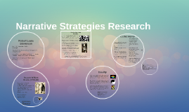 Narrative Strategies Research