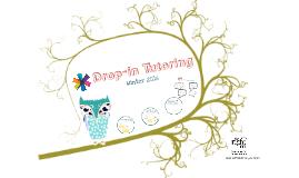 Drop-in Tutoring