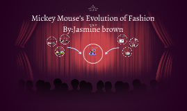 Mickey Mouse's Evolution of fashion
