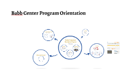 Babb Center Program Orientation