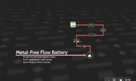 Metal-Free Flow Battery
