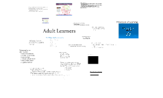 Copy of Adult Learners