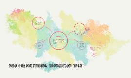 NGO Organization: transition talk