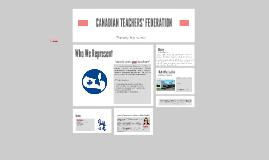 CANADIAN TEACHERS' FEDERATION