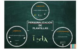 Plantillas de tareas personalizadas