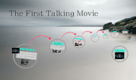 The First Talking Movie