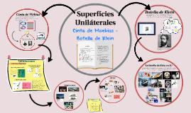 Superfícies Uniláteras