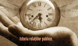 Istoria relațiilor publice.