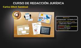 CURSO DE REDACCIÓN JURÍDICA
