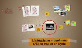 L'intégrisme musulman: L'ÉI