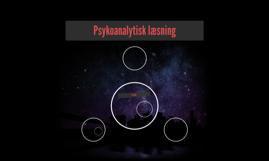 Psykoanalytisk læsning