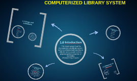thesis of computerized library system
