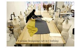 Fashion Designer Description: