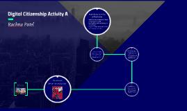 Digital Citizenship Activity A