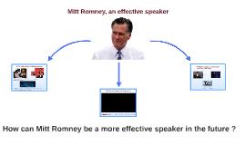 Mitt Romney, an effective speaker