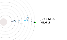 JOAN MIRO FREE FORM PEOPLE