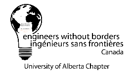 Copy of Copy of Engineers Without Borders UCalgary Chapter Opening Year Meeting