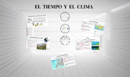 EL  TIEMPO  Y  EL  CLIMA