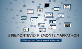 Piemonte Mappathon a Ocova