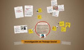 Investigacion en TRabajo Social