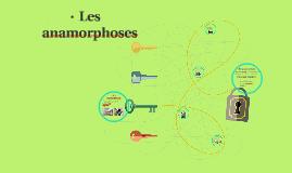 Les anamorphoses