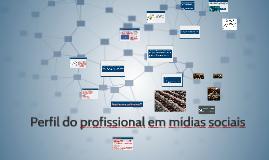 Perfil do profissional em mídias sociais