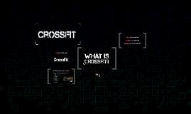 Beneficios que me ofrece CrossFit