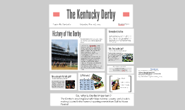 Copy of The Kentucky Derby