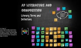 AP Lit Vocabulary