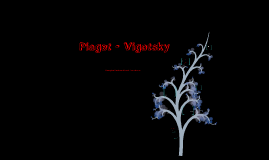 Copy of Piaget - Vigotsky