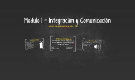 Modulo 1 - Integración y Comunicación