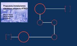Propuesta instalaciones eléctricas proyecto ATRIO