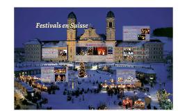 Festivals en Suisse