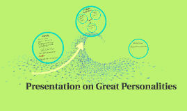 Presentation on Great Personalities