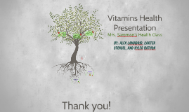 Vitamins Health Presentation