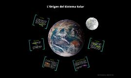 L'Origen del Sistema Solar