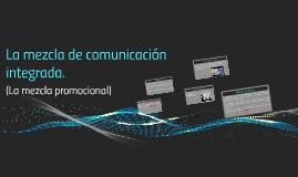 La mezcla de comunicación