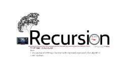 Recursion in 5 minutes