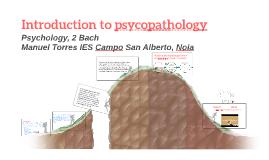 Introduction to psycopathology