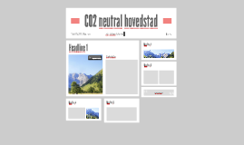CO2 neutral hovedstad