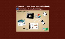 ¡Que esperas para visitar nuestro facebook!